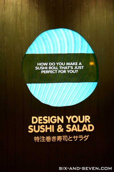 Maki-San The Cathay - Design Your Sushi & Salad - Wall