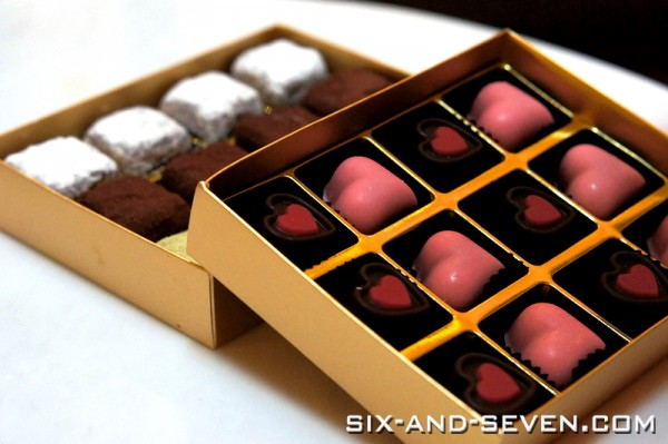 Pan Pacific Singapore - Pacific Marketplace - Pralines and Chocolates