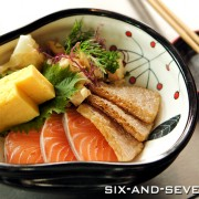 SushiAirways by Chef Wong Eng Chun - Chirashi Sushi
