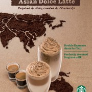 Starbucks Coffee Singapore - Asian Dolce Latte - 5 March to 24 April 2013