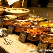 Melt The World Cafe Mandarin Oriental Singapore - Flavours of India - Indian Buffet Section