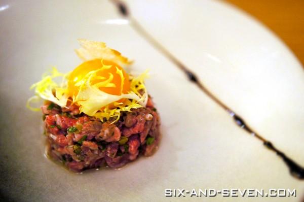 ME@OUE | Beef Tartar