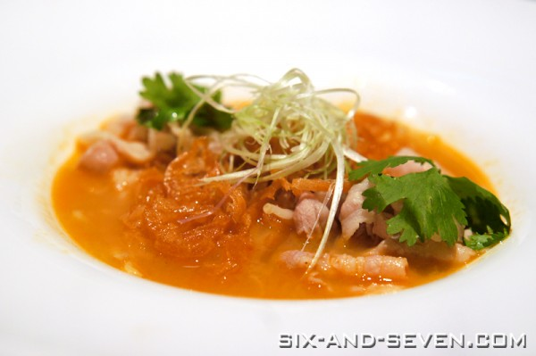 Feng Shui Inn Resorts World Sentosa - Hong Kong Masterpieces - Poached Kurobuta Belly in Lobster Bisque