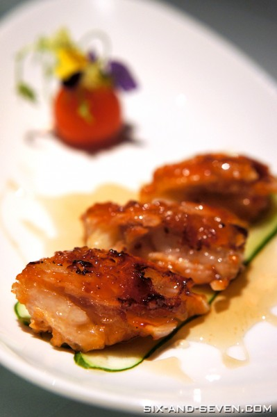 Feng Shui Inn Resorts World Sentosa - Singapore Inspired Healthy Creations - Honey Glazed Crocodile Belly