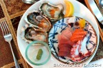 Shangri-la Hotel Singapore - The Line Turkish Promotion - Fresh Oysters and Sashimi