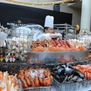 The Ritz-Carlton, Millenia Singapore - SuperBrunch October 2011 - Crustacean Galore