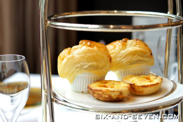 Brasserie Les Saveurs The St Regis Singapore - Grand Astor Afternoon Tea - Pot Pie and Quiche of the Day