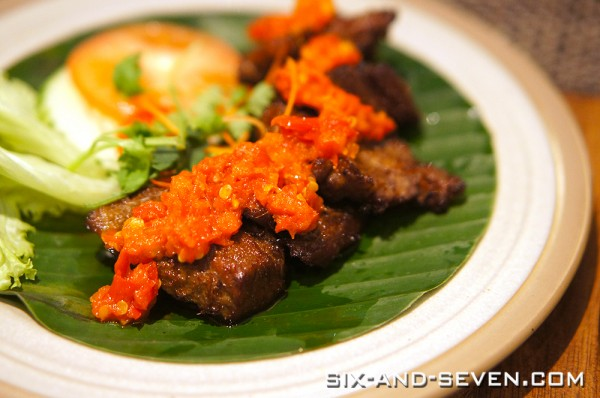 Seribu Sari | Rendezvous Hotel | Empal Balado
