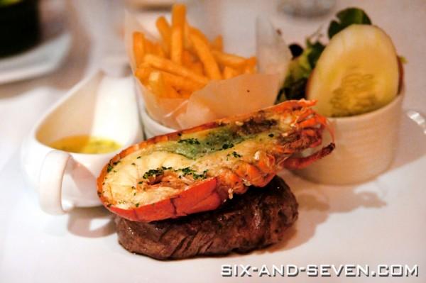 Singapore Marriott Hotel Pool Grill - Lobster Indulgence Promotion - Surf N Turf