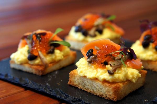 ... Restaurant Purvis Street - Joy Mahbubani - Scrambled Eggs With Salmon
