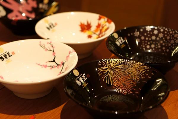 Ramen Keisuke Tonkotsu King Four Seasons Bugis Village - Keisuke Takeda - Bowls with different motifs