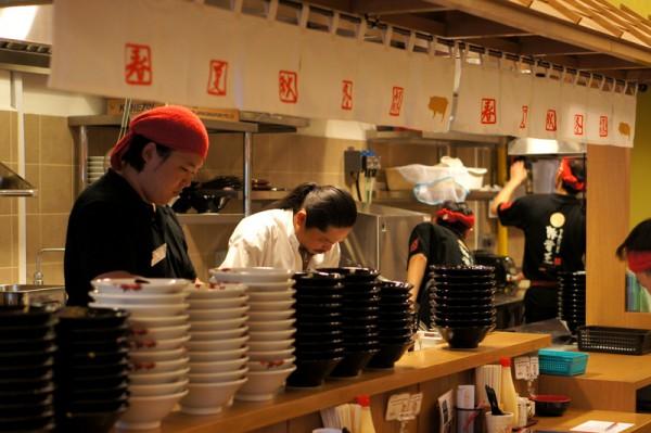 Ramen Keisuke Tonkotsu King Four Seasons Bugis Village - Keisuke Takeda at Work