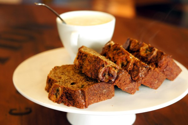 Revolution Coffee Infinite Studios - Owner Ajie Permana Chef Shen Tan - Freshly Baked Banana Bread