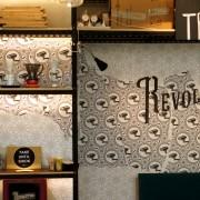 Revolution Coffee Infinite Studios - Owner Ajie Permana Chef Shen Tan - Interior