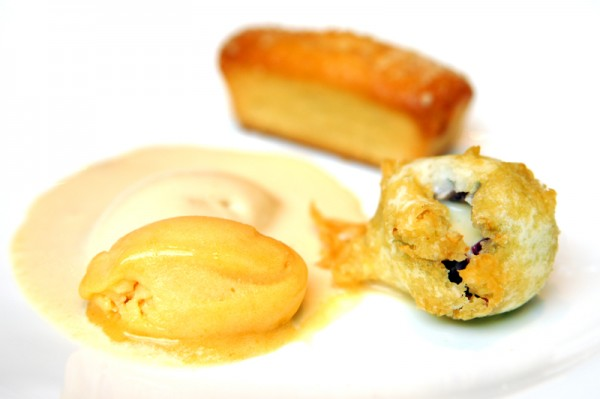 St Regis Singapore American Kaleidoscope - Chef Chris Kurth US Grant - Almond Brown Butter Cake