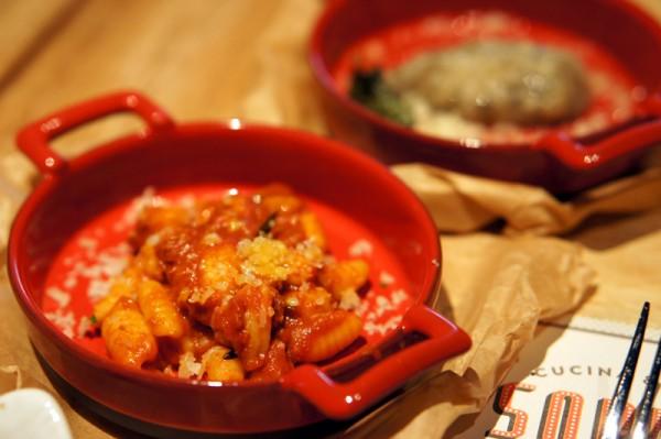 Sopra Cucina & Bar - Singapore's first Sardinian restaurant - Malloreddus alla Campidanese