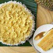 Goodwood Park Hotel - Durian Malay Cake (Durian Fiesta 2014)