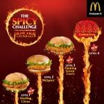 McDonald's Singapore Spicy Challenge