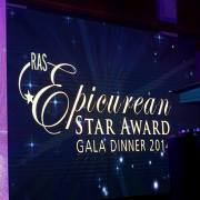 Restaurant Association of Singapore Epicurean Star Award 2014 Gala Dinner