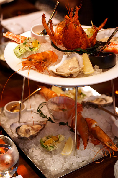 Sear Steakhouse - Singapore Land Tower 50RP - Angie's Ocean Platter