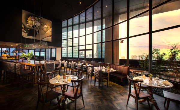 Sear Steakhouse - Singapore Land Tower 50RP - Interior