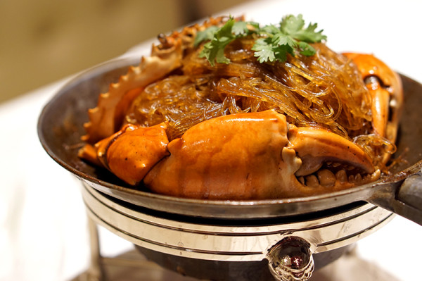 Tao Seafood - Asia Square - Pot Roasted Crab with Glass Noodle