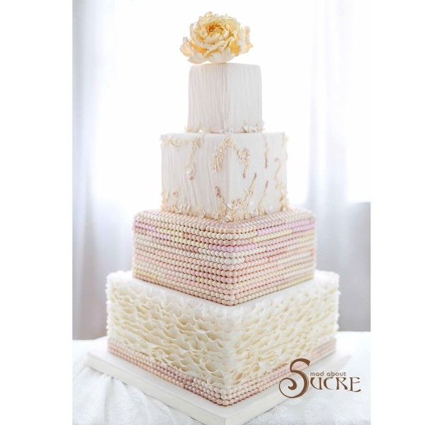 Mad About Sucre - Wedding Cake