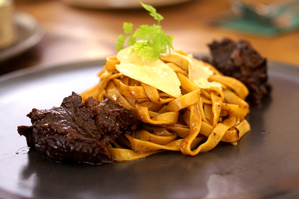 AEIOU Cafe - King George's Ave - Beef Cheek Pasta