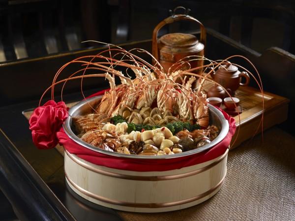 Cherry Garden - Mandarin Oriental Singapore - Luxurious Pen Cai