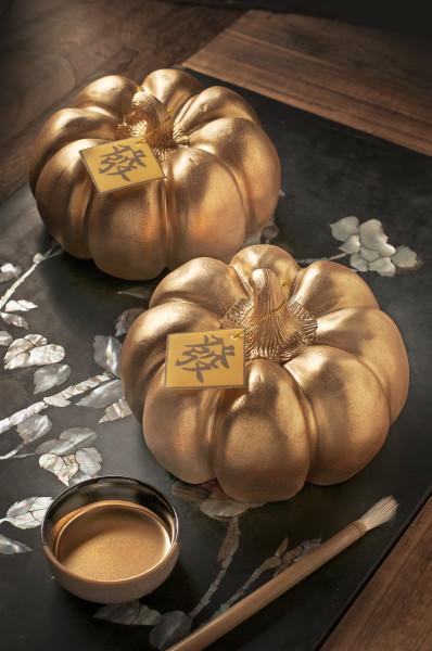 Golden Prosperity Pumpkin Cake (Deli)