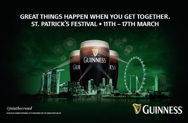 Guinness Singapore St Patrick's Festival 2015 - 11-17 March 2015