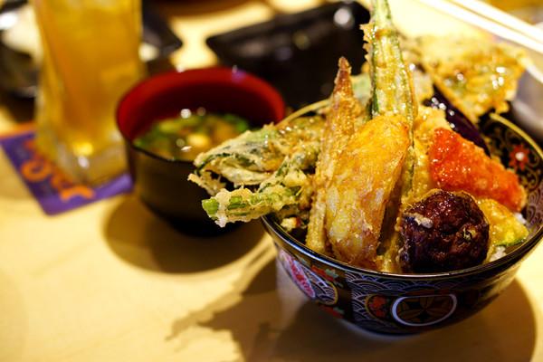 Ginza Tendon Itsuki by Ramen Keisuke - Tanjong Pagar - Vegetable Tendon