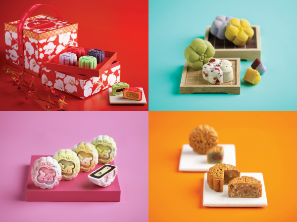 Bakerzin Mooncakes 2015 - New Collections - Celebration, Mini Momo, Joy and Mini Oriental
