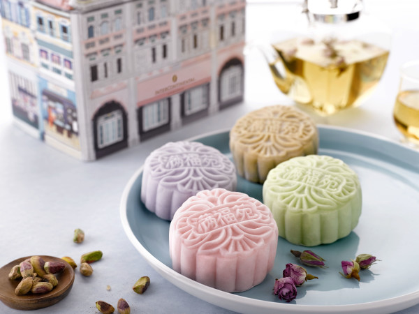 InterContinental Singapore Mooncakes 2015 - Snowskin Tea Mooncake Collection