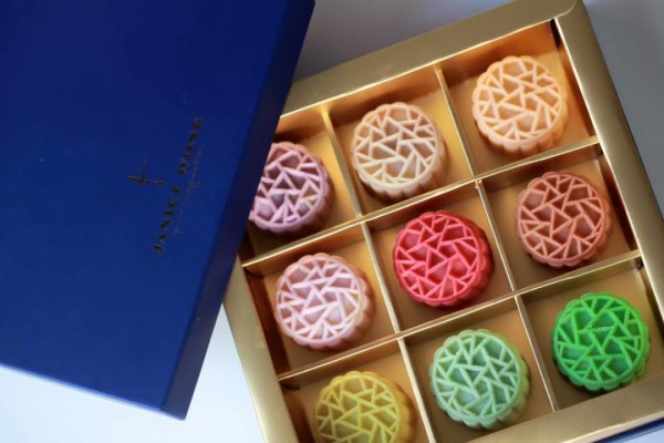 Janice Wong Mooncakes 2015 - Limited Edition Singapore Flavours Mooncake Box