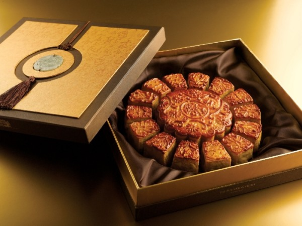The Fullerton Hotel Singapore Mooncakes 2015 - The Fullerton 15 Treasures Premium Gift Set