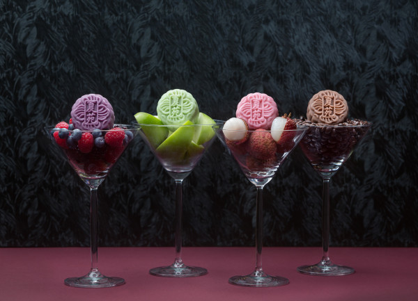 The Ritz-Carlton Millenia Singapore, Summer Pavilion Mooncakes 2015 - Assorted Mini Snowskin Martini