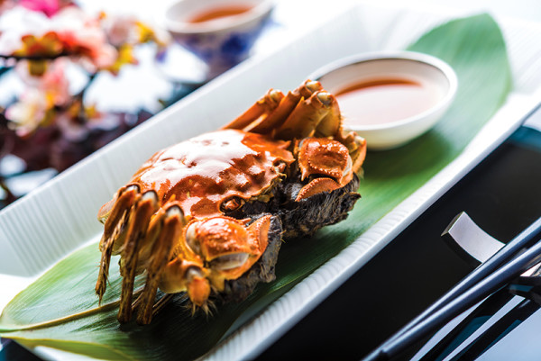 Summer Palace - Regent Singapore- Hairy Crab
