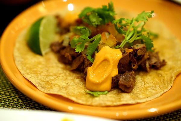 Oscar's Conrad Centennial Singapore - Savouring Latin America - Beef Tacos