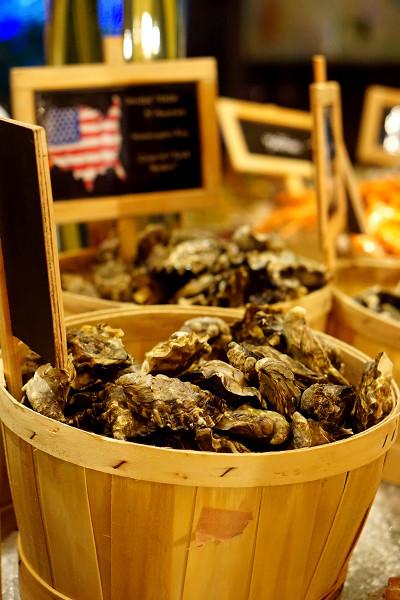 Oscar's Conrad Centennial Singapore - Savouring Latin America - Oysters