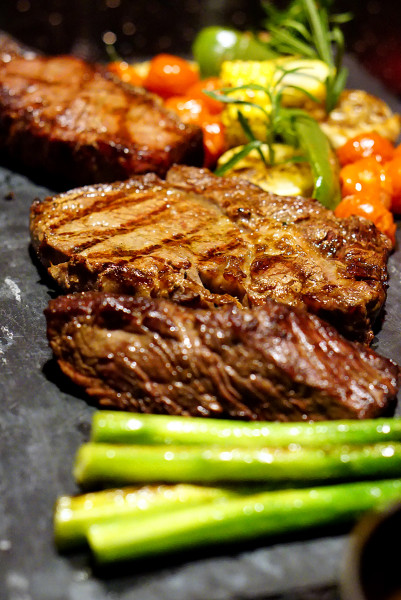 European restaurant Ash & Elm - InterContinental Singapore - Beef Tasting