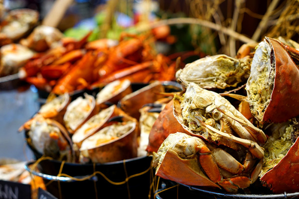 Kwee Zeen Magnifique Sunday Champagne Brunch - Sofitel Singapore Sentosa Resort & Spa - Crab