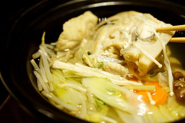 Mikuni Fugu Grand Tasting Menu - Fairmont Singapore - Fugu Chiri Nabe of Globefish Hot Pot