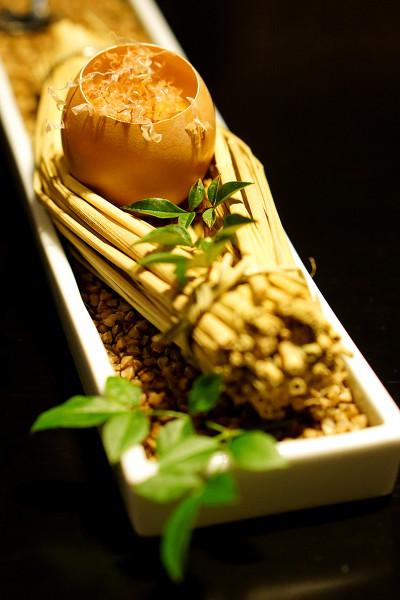 Mikuni Fugu Grand Tasting Menu - Fairmont Singapore - Otoushi of Globefish Shirako Egg Custard with Yuzu