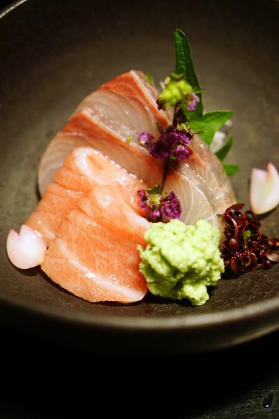 Mikuni Fugu Grand Tasting Menu - Fairmont Singapore - Seasonal Tokusen Sashimi Toro, Yellowtail