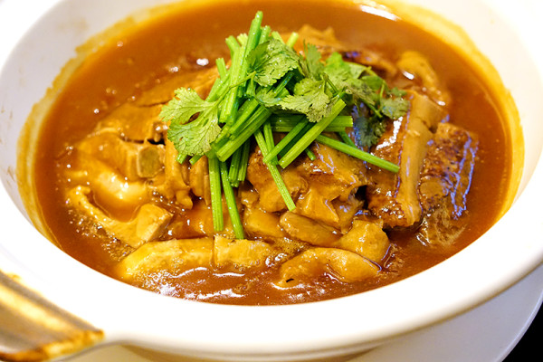 Winter Solstice 2015 at Man Fu Yuan, InterContinental Singapore - Braised Duck with Yam & Plum in Casserole