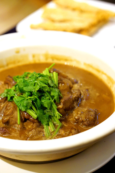 Winter Solstice 2015 at Man Fu Yuan, InterContinental Singapore - Stewed Lamb with Bamboo Shoots & Mushrooms in Casserole