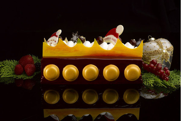 The St. Regis Singapore - Christmas 2015 - Griotte Cherry Yule Log