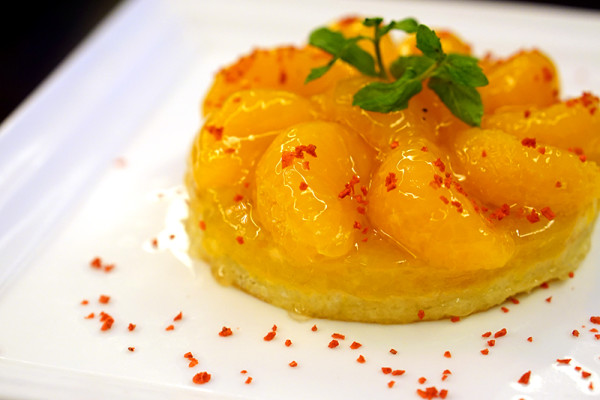 Chinese New Year 2016 - Concorde Hotel Singapore - Spices Cafe Reunion Dinner Buffet Menu - Mandarin Orange Tart