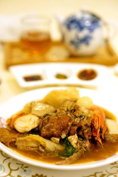 Chinese New Year 2016 - Man Fu Yuan InterContinental Singapore - Man Fu Yuan Deluxe Treasures Pot Portion